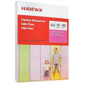 کاغذ 260 گرم ساتین هارتوی