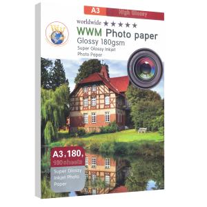 کاغذ 180 گرم WWM A3