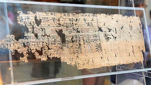 نمونه قدیمی ترین کاغذ دنیا