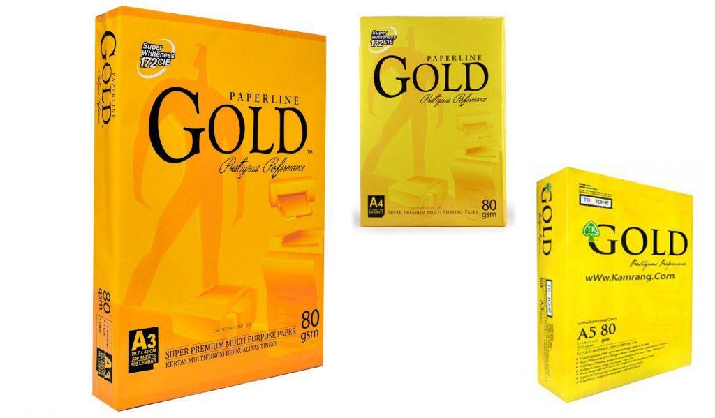 کاغذ لیزری گلد GOLD
