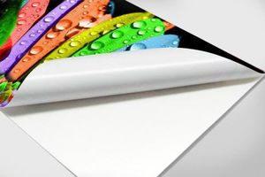 کاغذ 160 گرم بلک استار کاغذ عکس