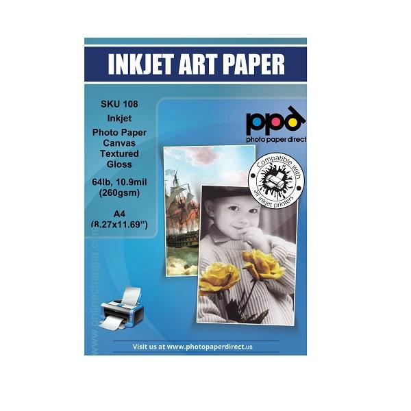 کاغذ عکس 108 گرم گلاسه ppd