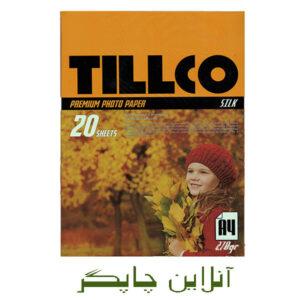 کاغذ تيلكو سیلکی 270 گرم A4